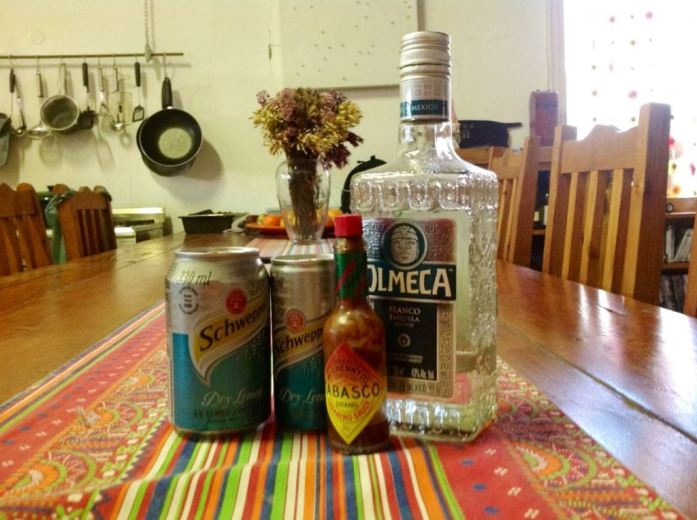The original TripT  ... or should I say my personal logo ... Tilla, Tequila and Tabasco ... we can tell you wonderful tales ...