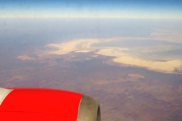 the Makgadikgadi Salt Pans in Botswana