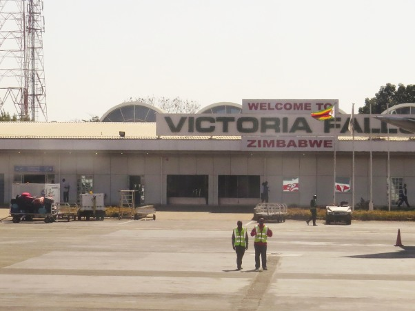 Welcome To Victoria Falls Airport ...