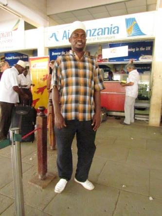 Shakur our friendly  taxi driver