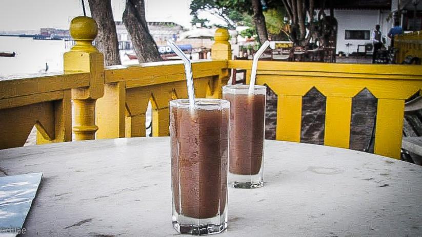 Tamarind juice on the beach ...