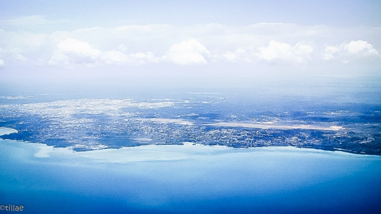Azure blue beaches ...